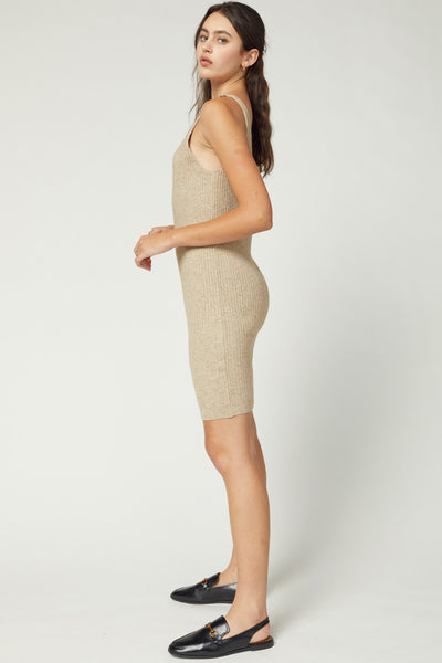 Match Made in Heaven Dress - Oatmeal