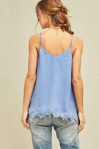 Icing On The Cake Cami - Blue