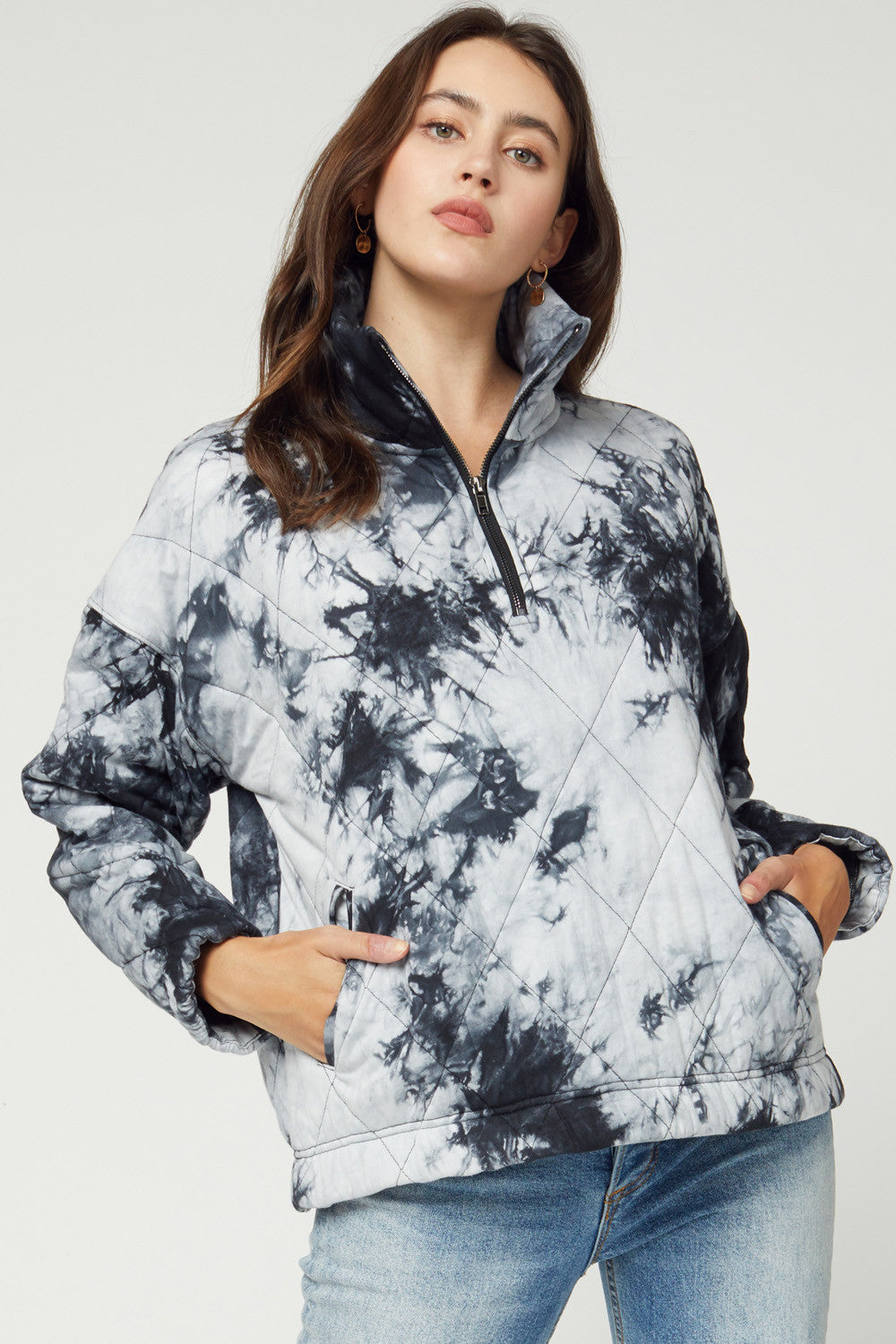 Among the Clouds Pullover - Black