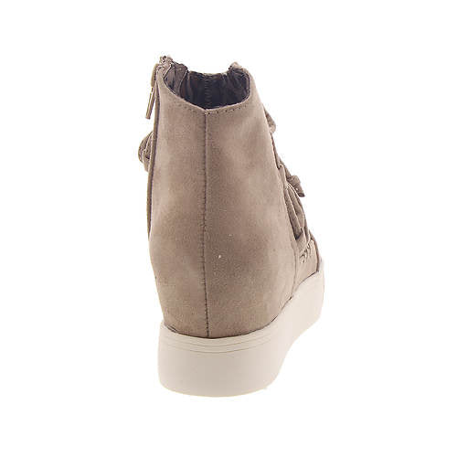 Ursula  Wedge Sneakers - Taupe
