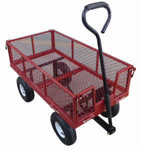 "Medium Duty Garden Utility Cart 38"" X 20"""