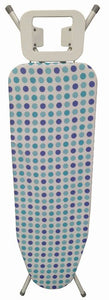 Ironing Board 38X122 cm  With Blue Spots Cover