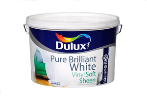 Dulux Vinyl Soft Sheen Pure Brilliant White  10L