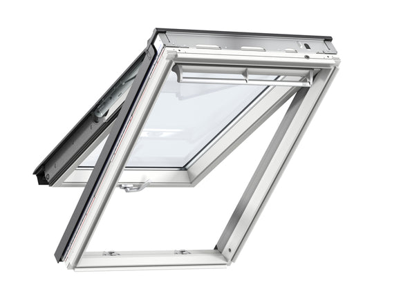 Velux White Painted Top-Hung Window - 78X98CM