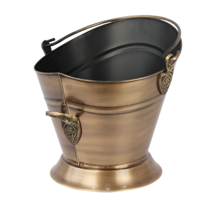 Celtic Antique Brass Waterloo Bucket
