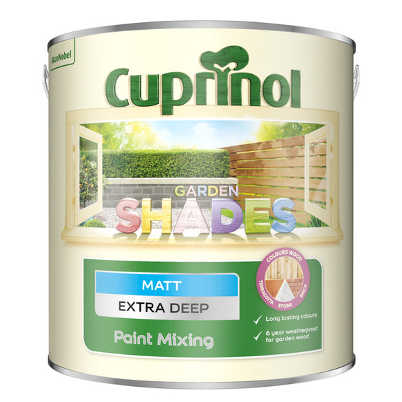 Cuprinol Garden Shades Extra Deep Base 2.5L