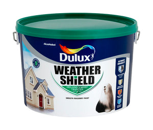Dulux Weathershield Brilliant White 10L