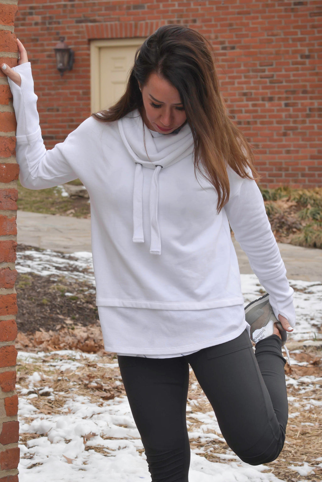Warm and Cozy Cowl Neck Sweatshirt