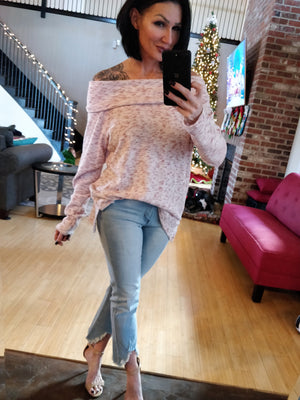 Luxe Pink Sweater