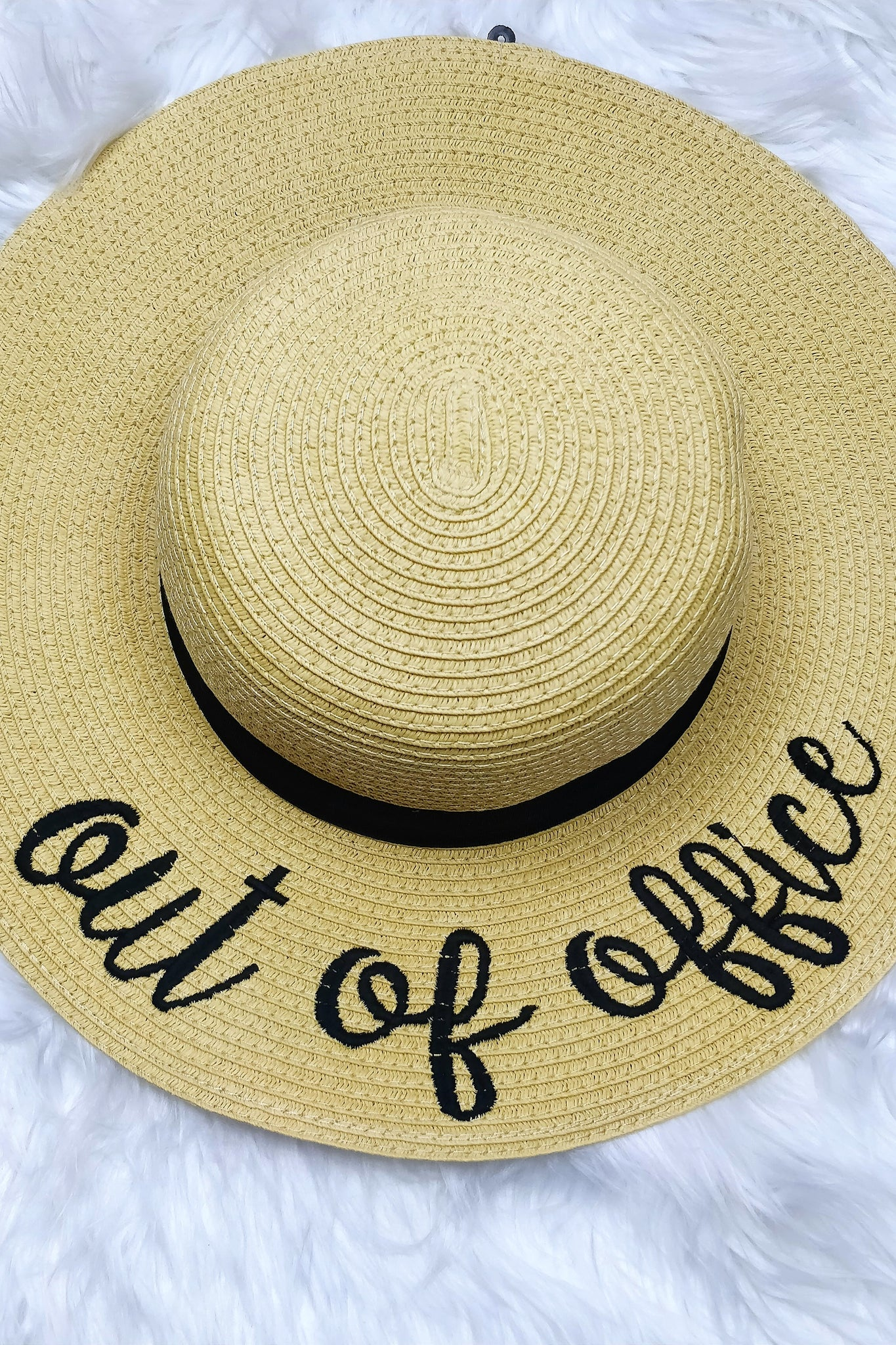 Message Me Beach Hat