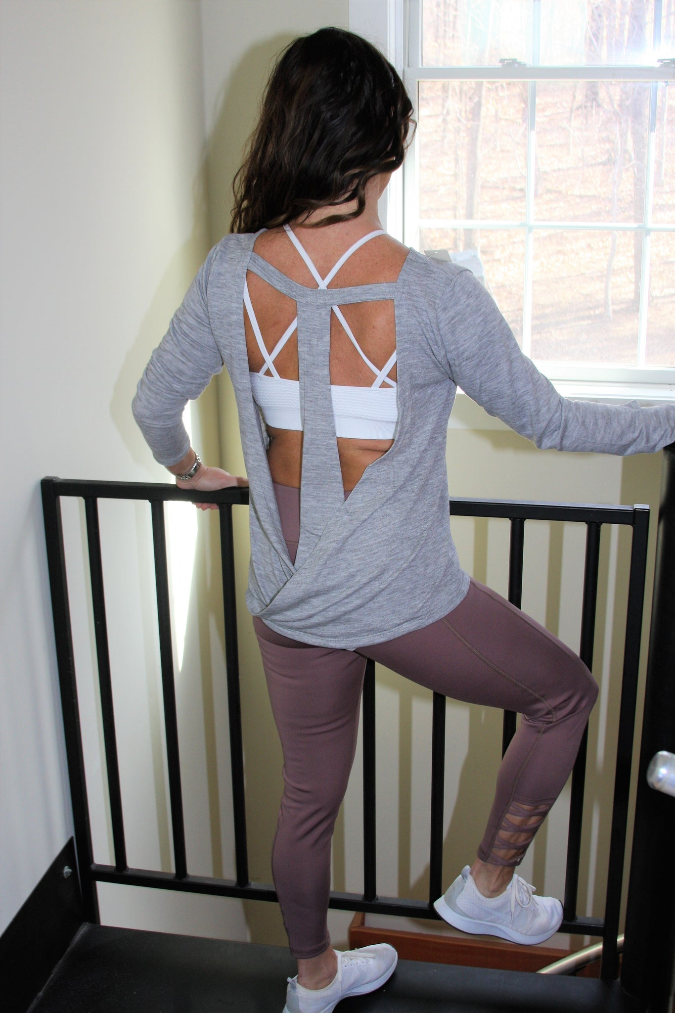 T-Strap Backless Top