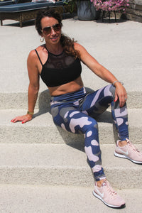 Camo Leggings (blue/green)
