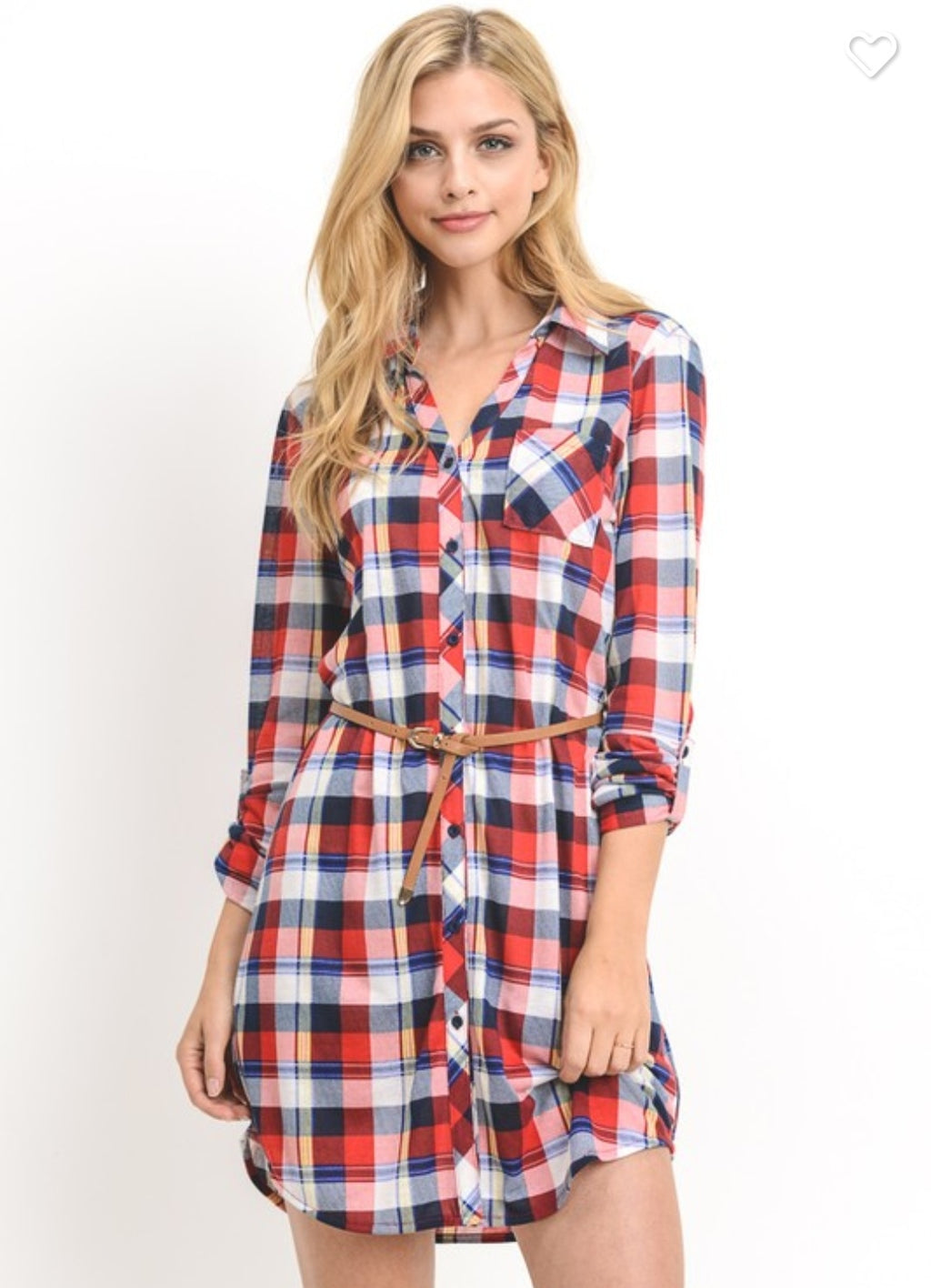 Fall Plaid Dress