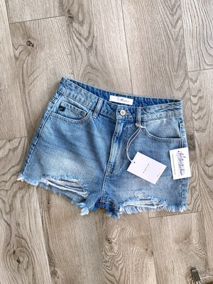 Step Aside - Denim Shorts