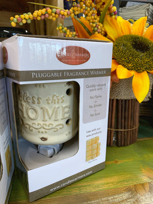 Fragrance Warmer - Bless This Home