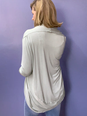 Point of View - Lightweight Cardigan / Soft Sage