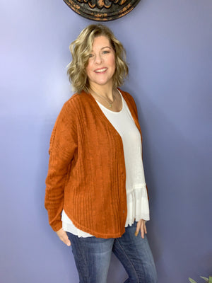 Shut the Barn Door - XL Cardigan
