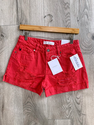 On Point! - Denim Shorts