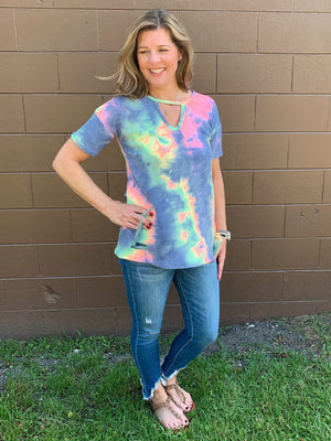 That 70's Shirt - tie dye top