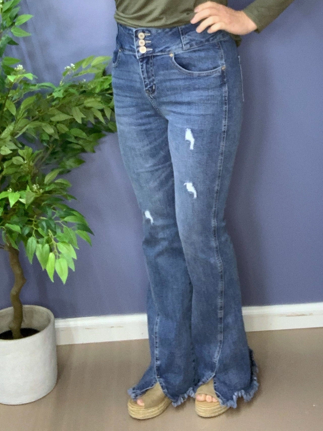 Tinsley - Kan Can Flared Jeans