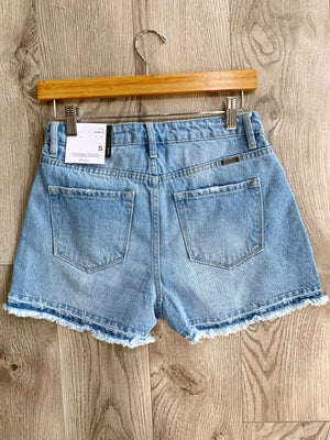 At Ease - Denim Shorts