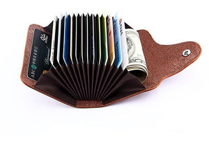 Genuine Leather Unisex Card Holder - Trendy Store GiaSai