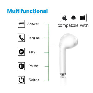 Wireless Bluetooth earphones - Trendy Store GiaSai