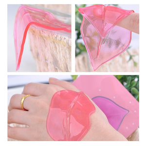 5pcs Crystal Collagen Pump Lips Mask - Trendy Store GiaSai