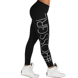 Boss Leggings 100% cotton - Trendy Store GiaSai