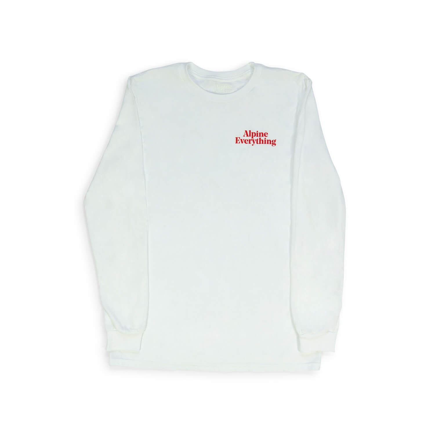 Alpine Everything Longsleeve (White)