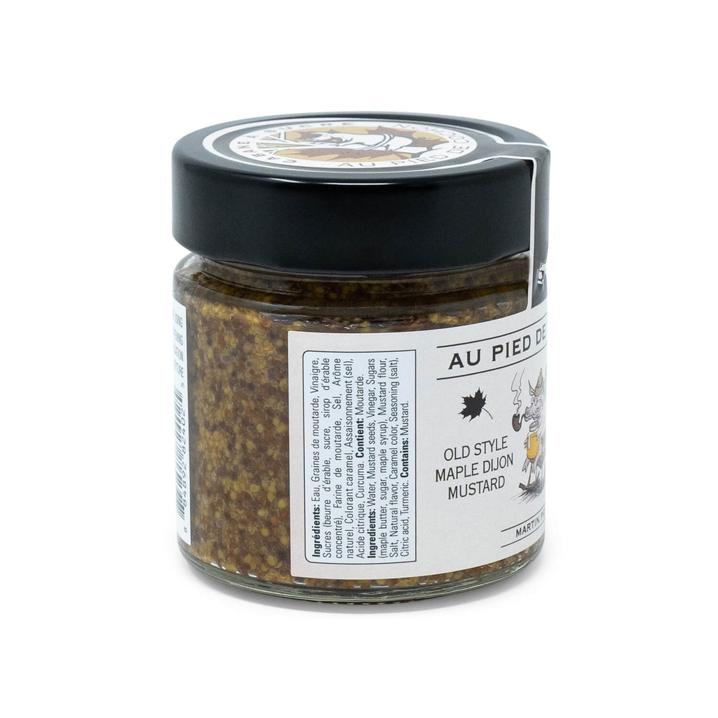 Au Pied de Cochon Old Style Maple Dijon Mustard (220ml)