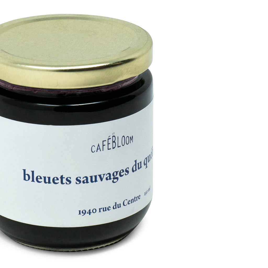 Confiture de Bleuets Le Café Bloom (250ml)