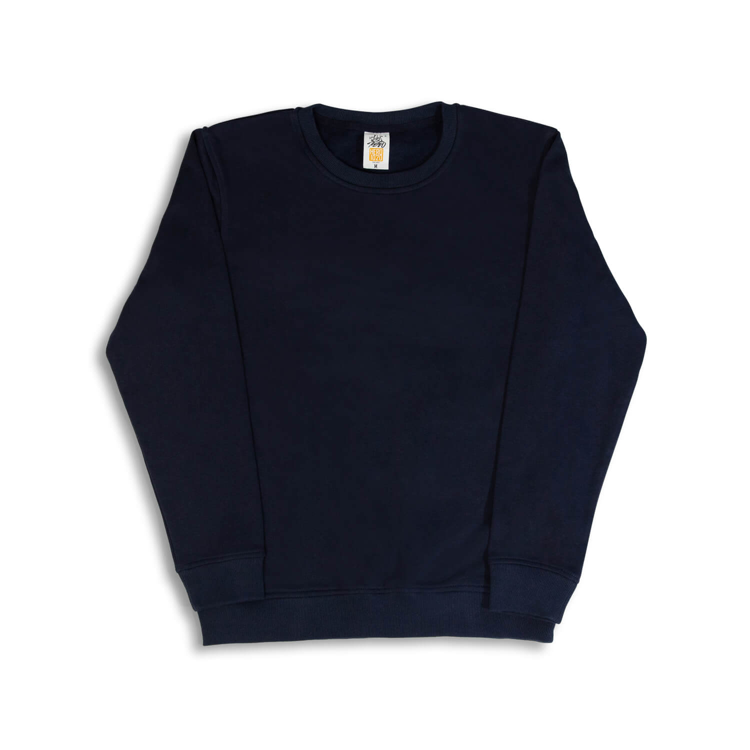 Le Café Bloom Crewneck Sweatshirt (Navy)