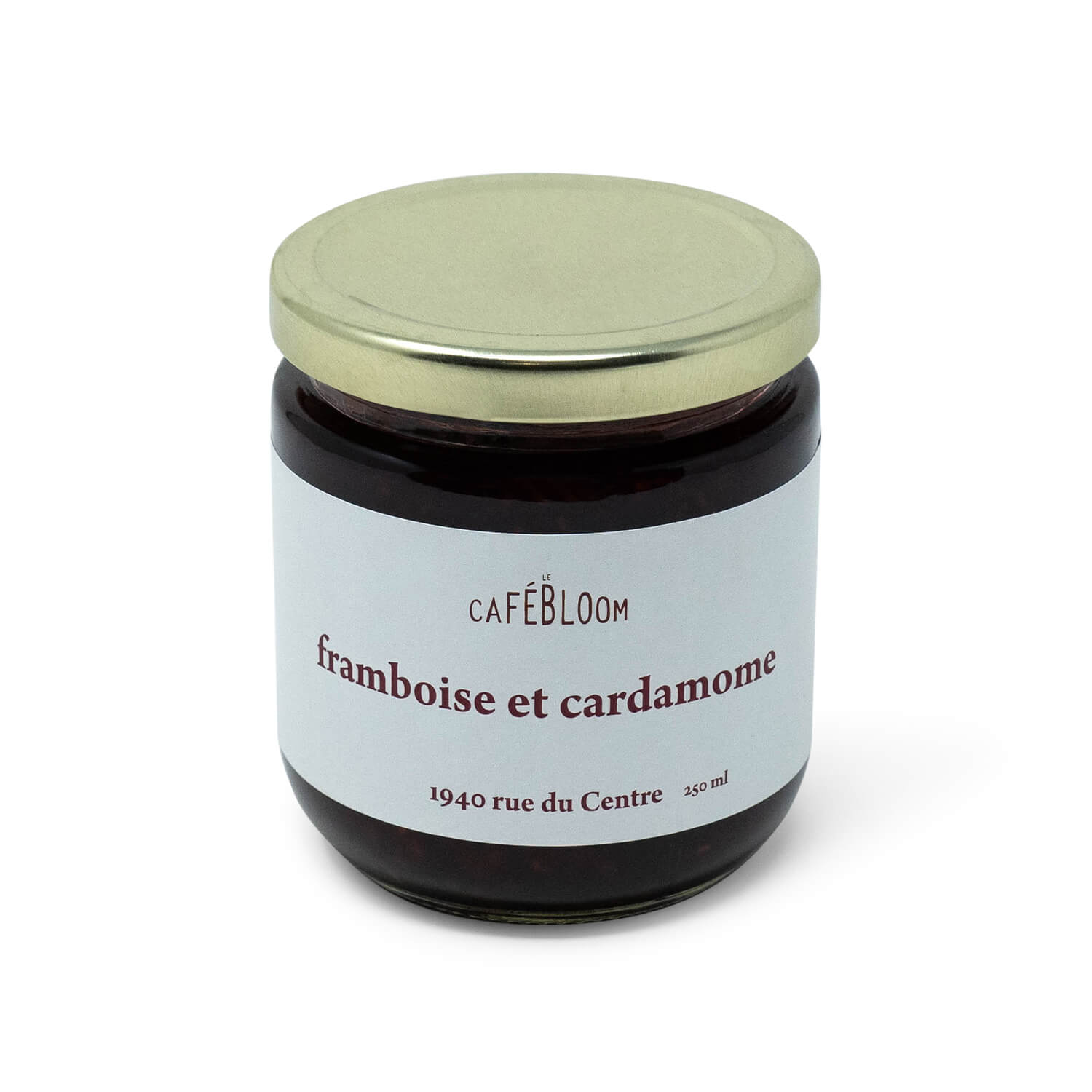 Le Café Bloom Raspberry and Cardamom Jam (250ml)