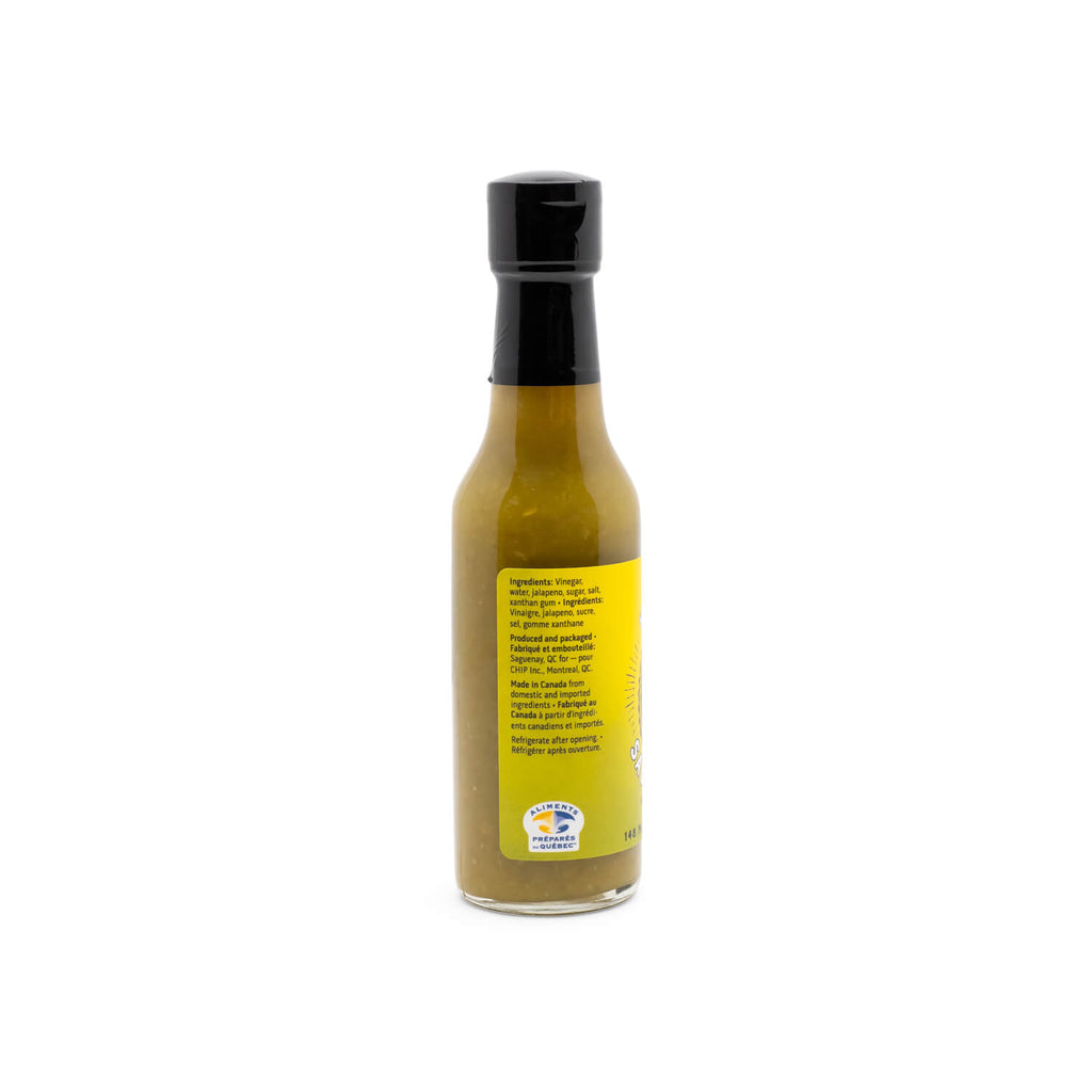 Chuck Hughes Jalapeño Hot Sauce (148ml)