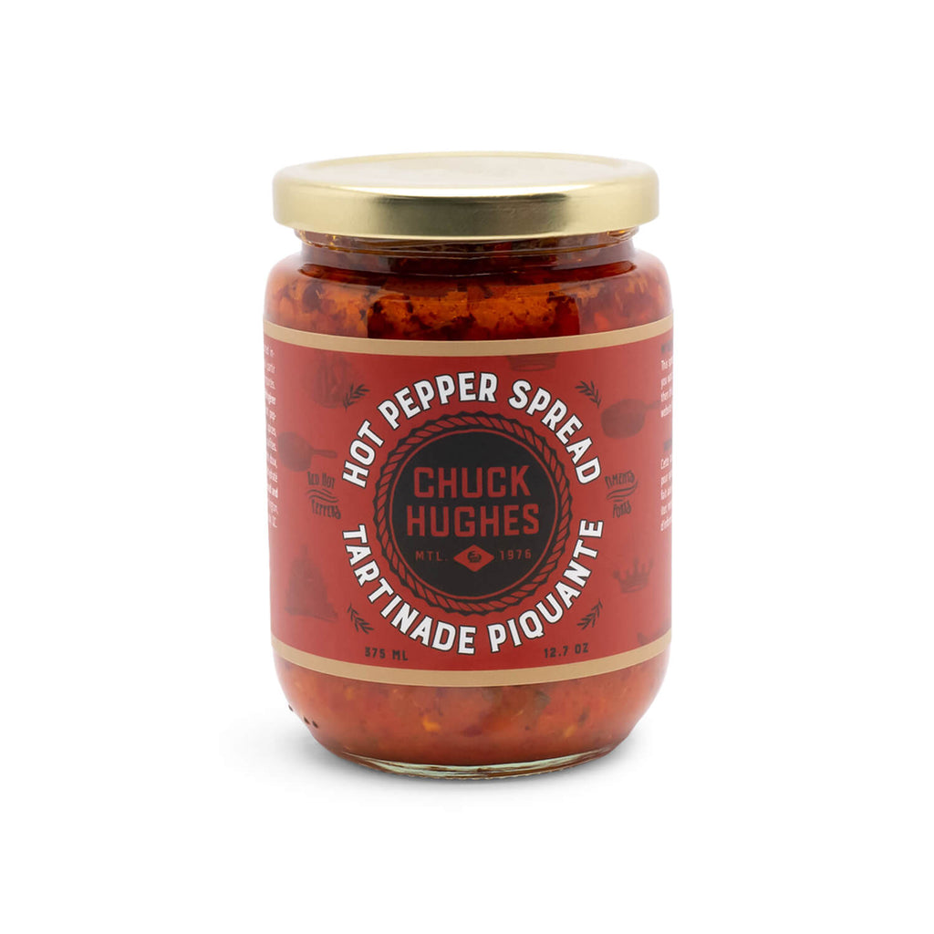 Chuck Hughes 3-Jar Carrier (Spicy)