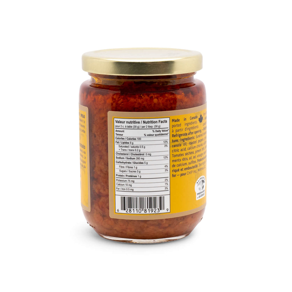 Chuck Hughes Spicy Sun Dried Tomato (375ml)