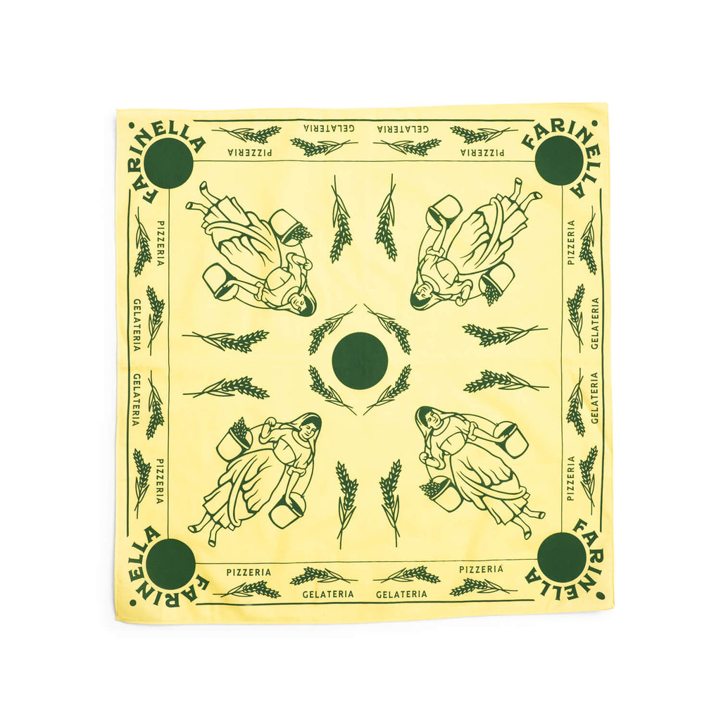Farinella Bandana (Light Yellow)