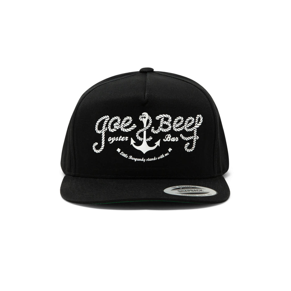 "Joe Beef ""Rope"" Snapback (Black)"