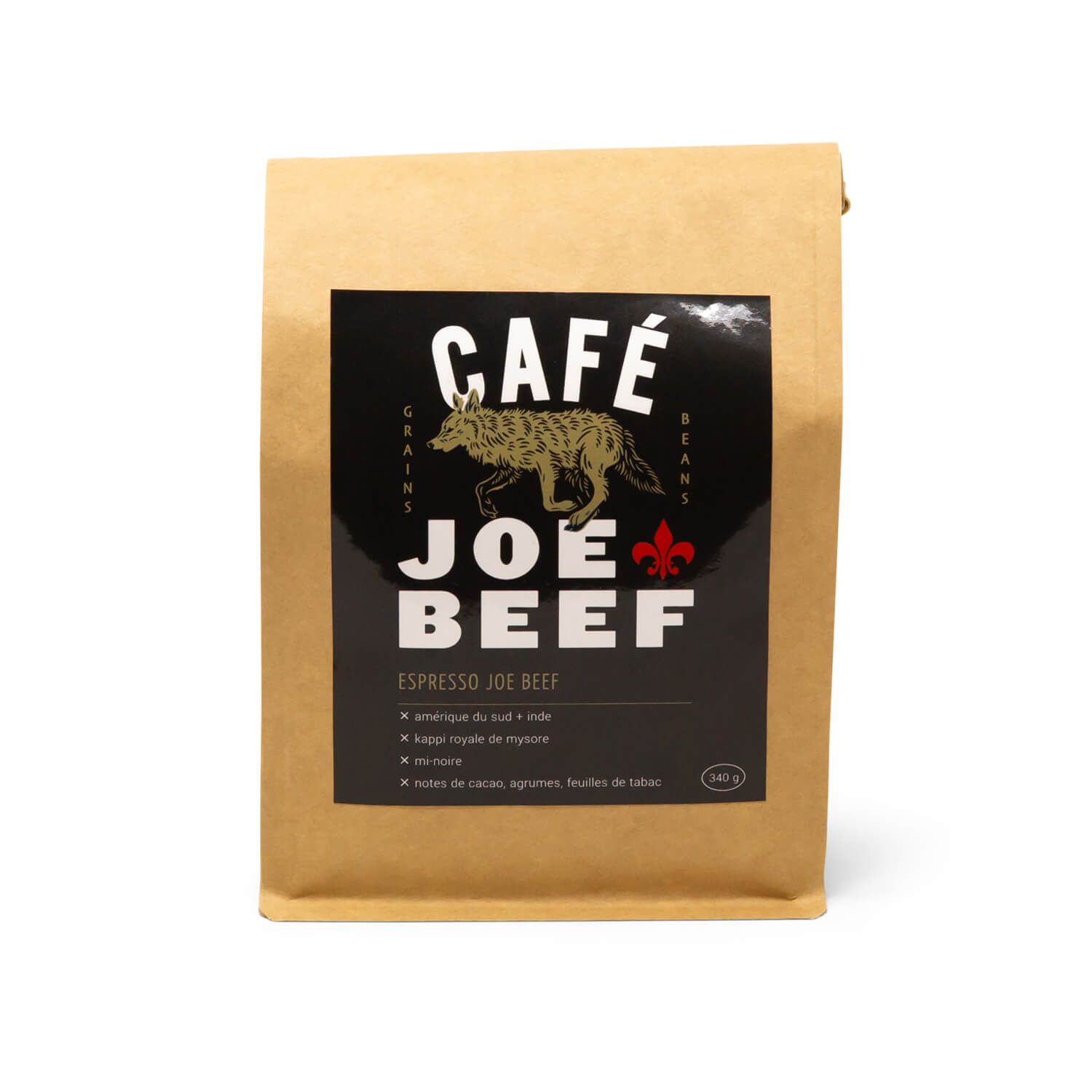 Joe Beef Medium Dark Coffee Beans (340g)
