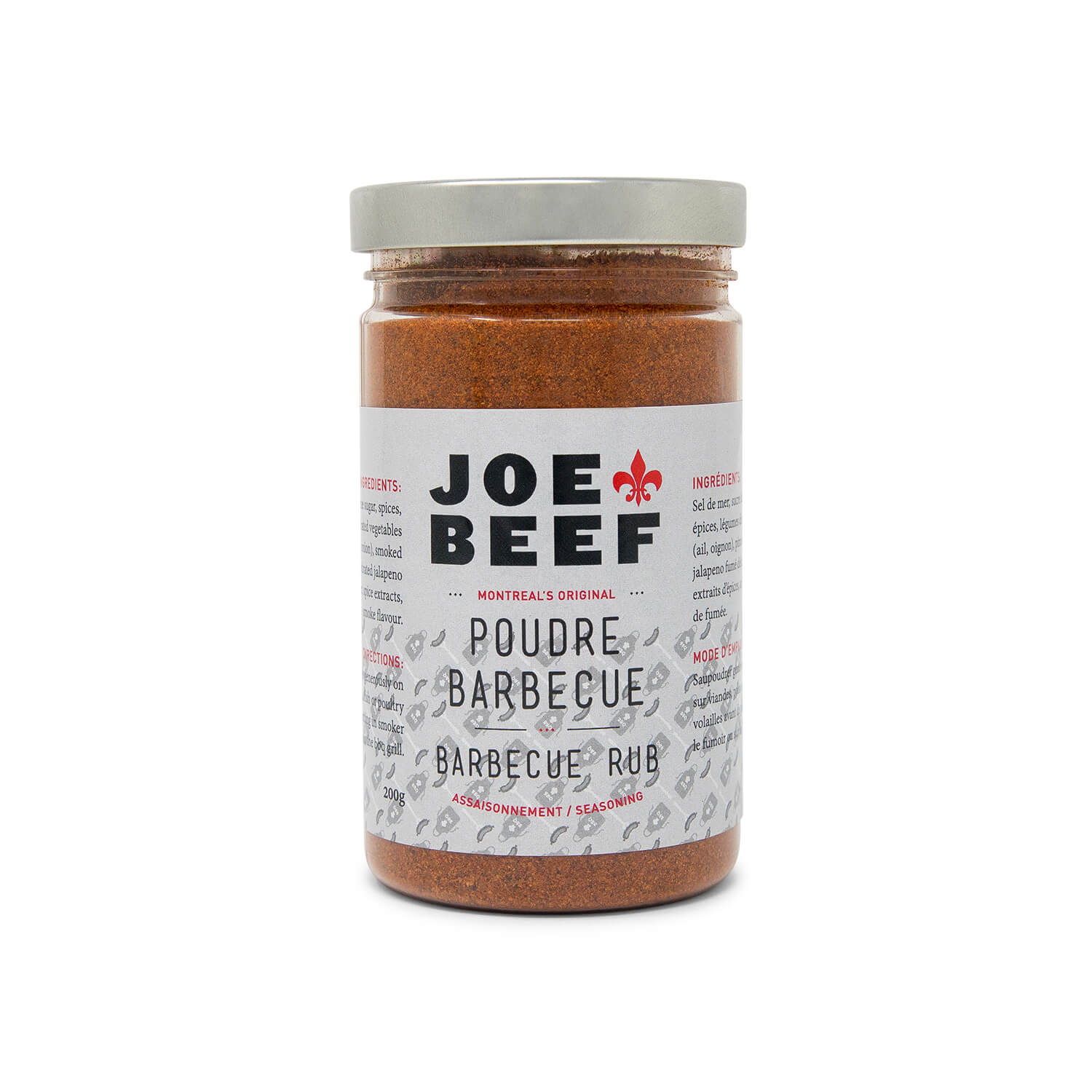 Poudre Barbecue Joe Beef (200 g)