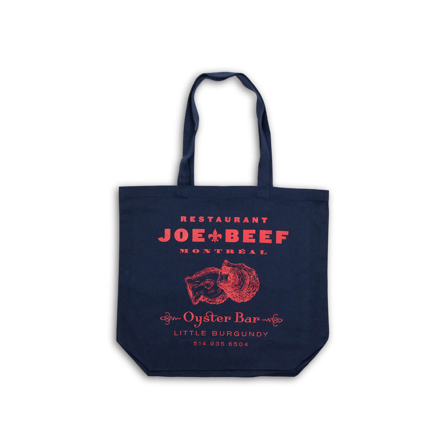 Joe Beef Oyster Bar Tote Bag