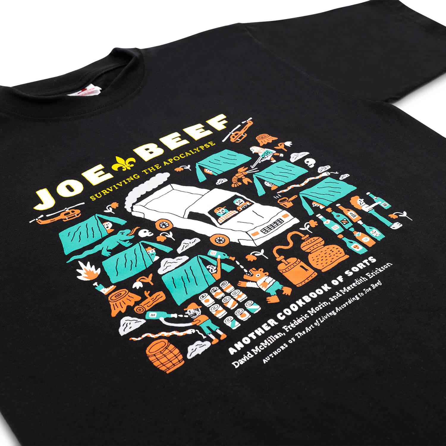 Joe Beef Apocalypse T-Shirt (Black)
