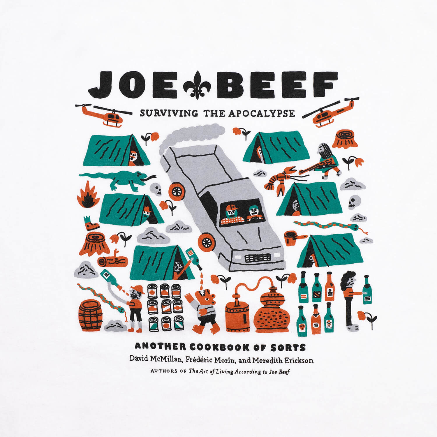 Joe Beef Apocalypse T-Shirt (White)