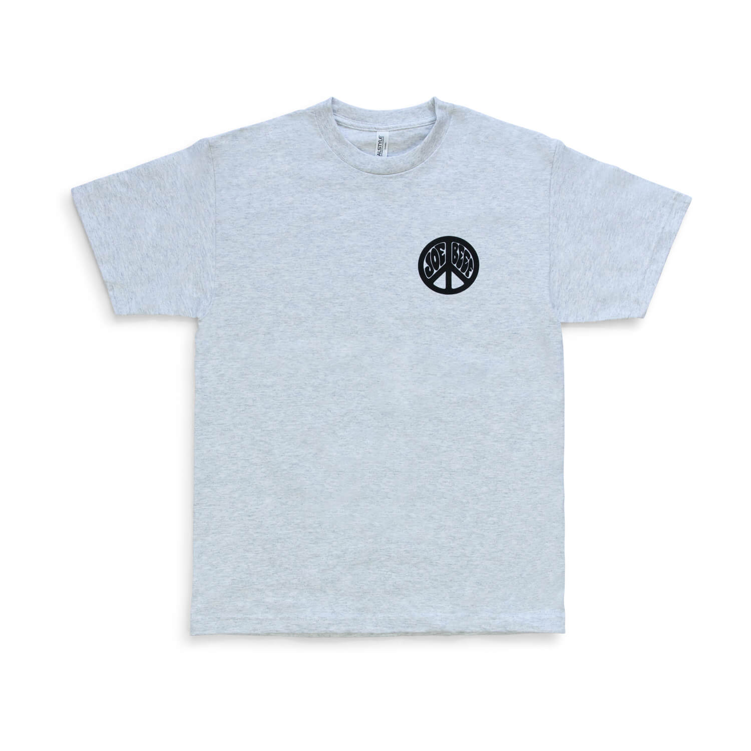 Joe Beef Hippie T-Shirt (Grey)