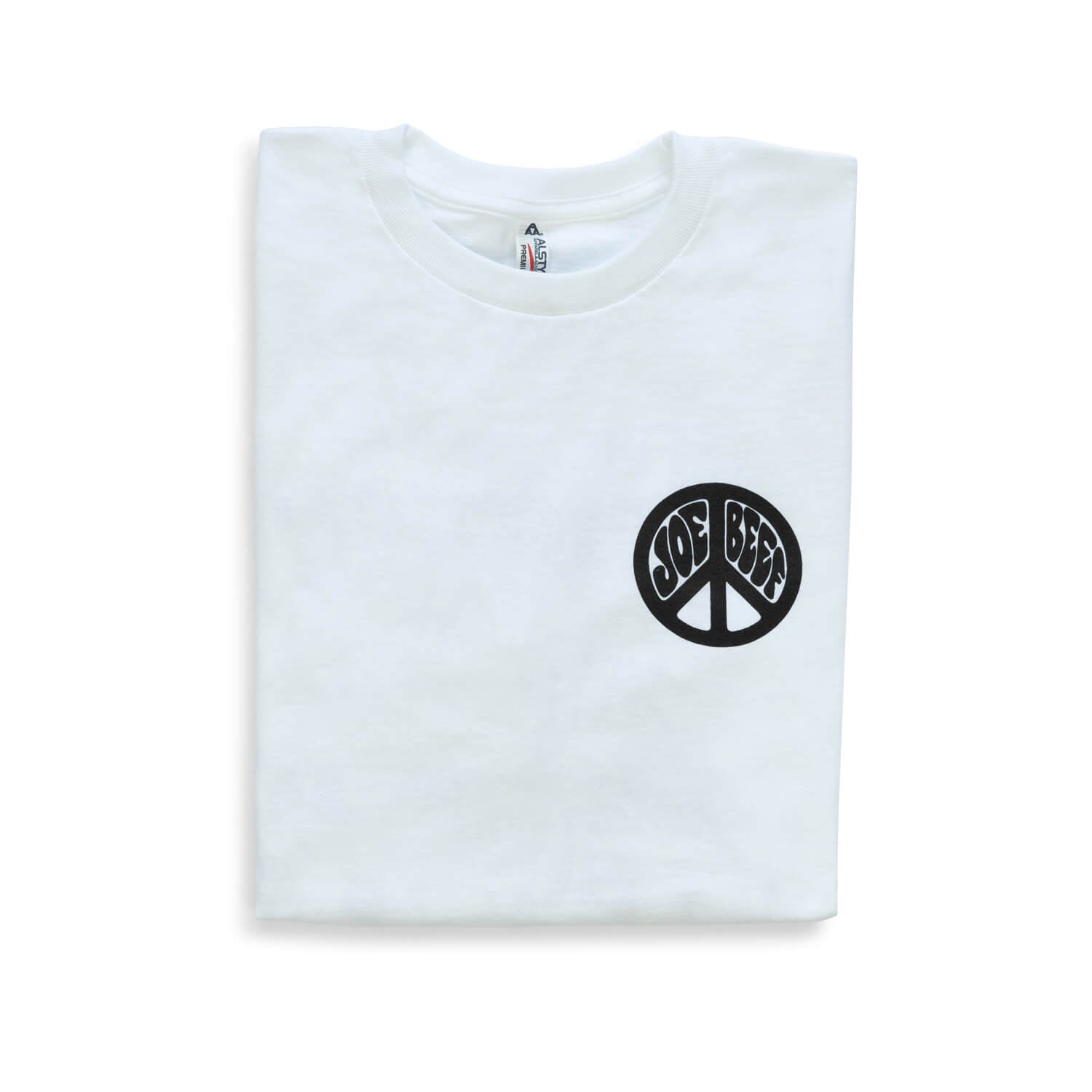 Joe Beef Hippie T-Shirt (White)