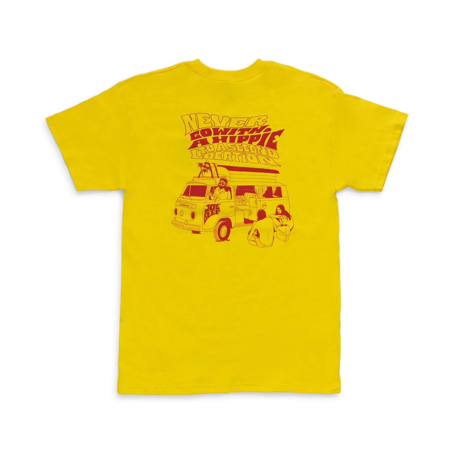 Joe Beef Hippie T-Shirt (Yellow)