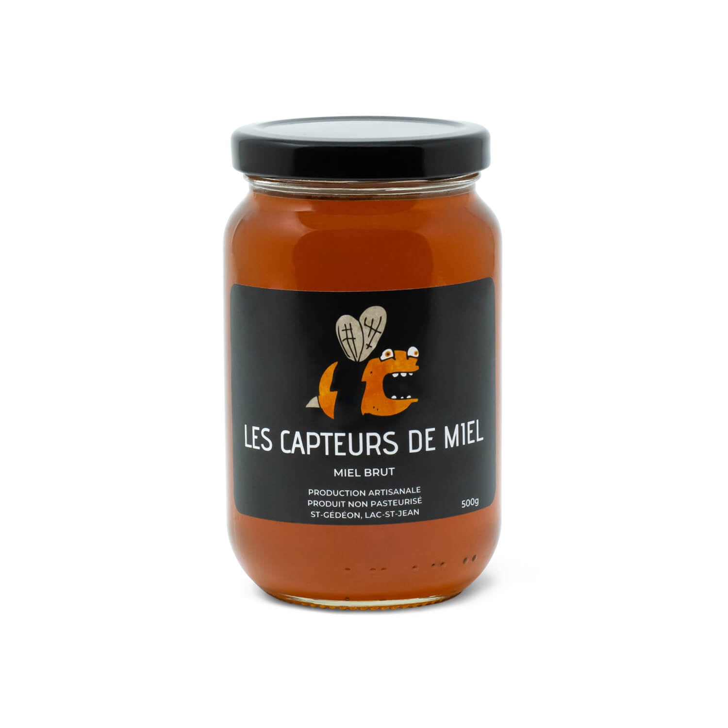 Les Capteurs de Miel Raw Honey (500g)