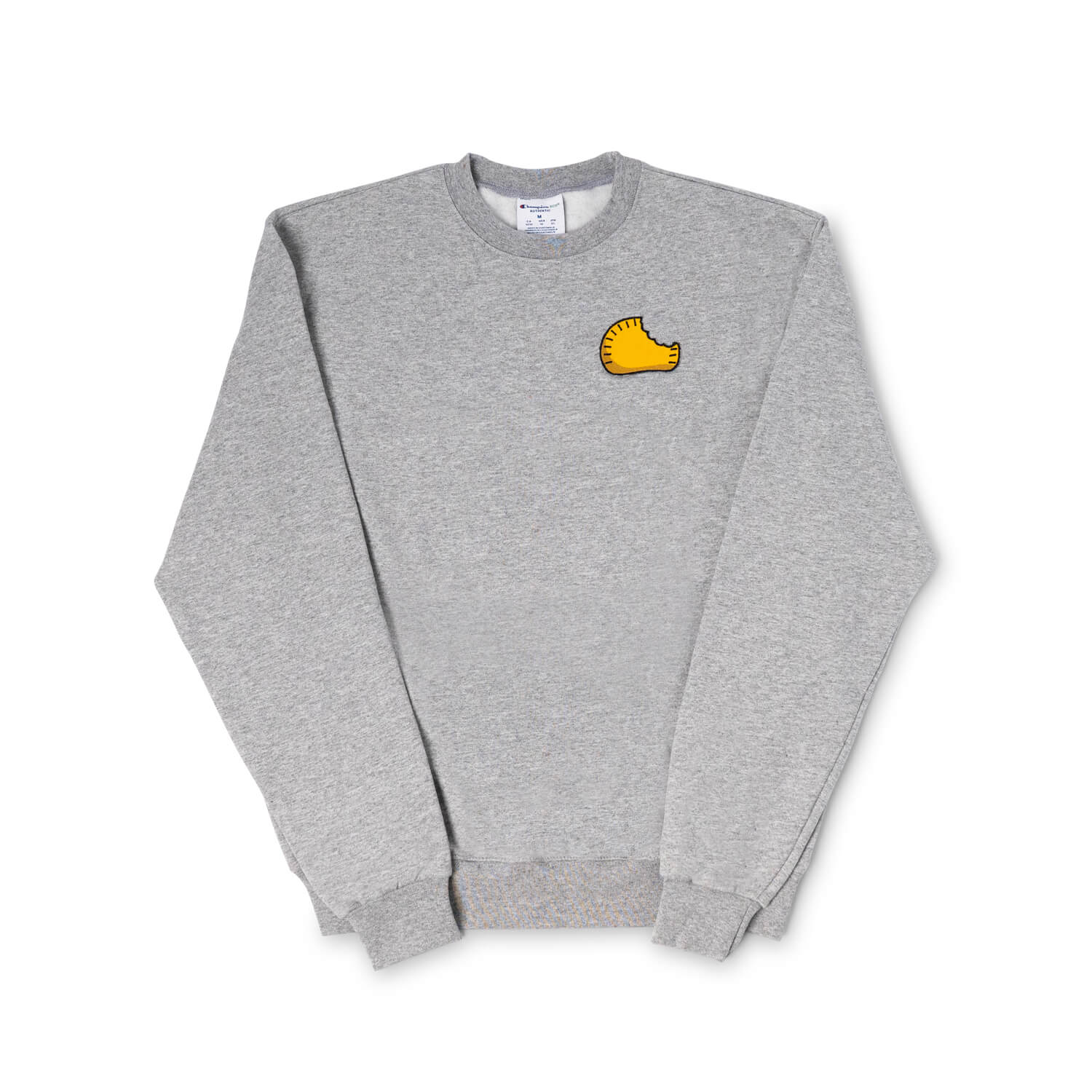 Lloydie's Patty Patch Crewneck Sweatshirt (Grey)