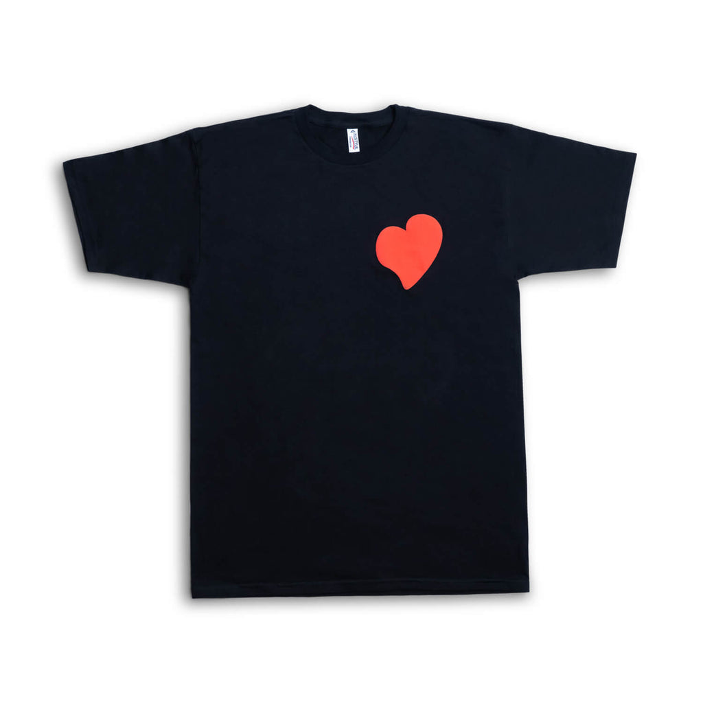 Lloydie's Heart Patch T-Shirt (Black)